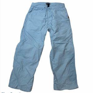 REI | Women's Teal Blue Nylon Hiking Capri Pants